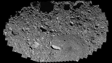 See Asteroid Bennu Sample Site as OSIRIS-REx Swoops Past