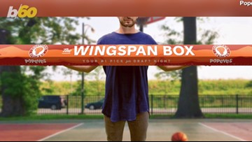 Popeyes' 6-Foot, 10-Inch 'Wingspan Box' Celebrates Zion Williamson Ahead of NBA Draft