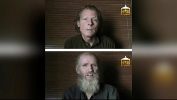 Taliban say they've released American, Australian held for 3 years