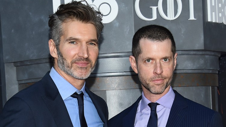 David Benioff and DB Weiss Game of Thrones showrunners