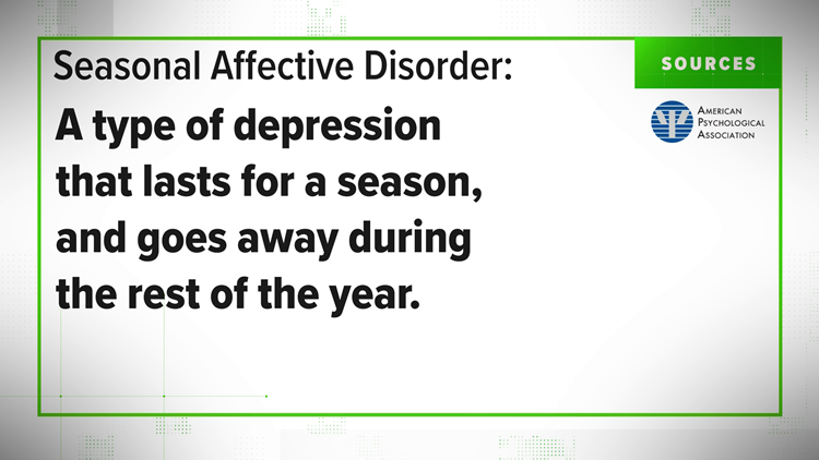 VERIFY: Yes, Seasonal Depression is real and can really impact your life