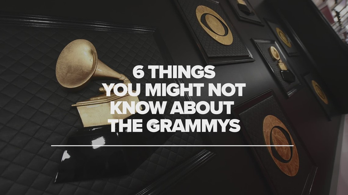Grammy Awards fun facts