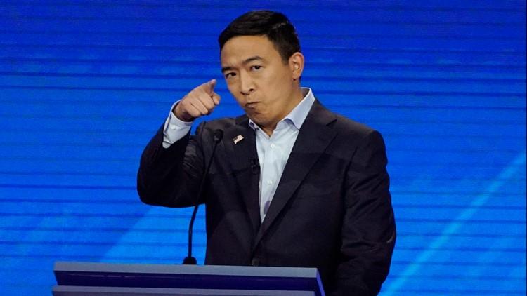 Election 2020 Debate Andrew Yang