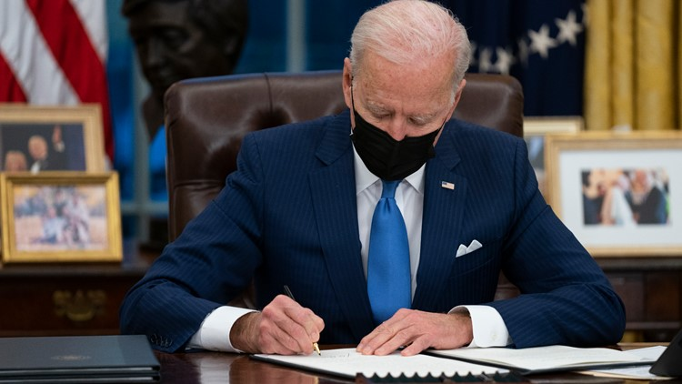 WATCH LIVE: President Biden to order a review of US supply chains for vital goods