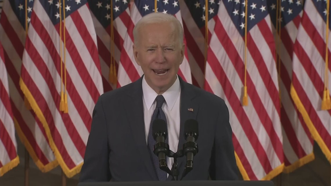 Biden lays out plan in Pittsburgh remarks for massive infrastructure plan