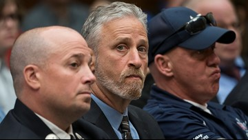 Jon Stewart: 'We can stop penalizing' 9/11 responders after victims' fund passes