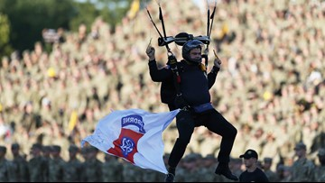 US Army football team changed motto because of white supremacist link