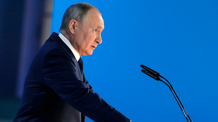 Putin says US and UK were behind Black Sea 'provocation'