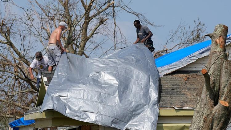 Nicholas crawls into Louisiana from Texas, dumping rain