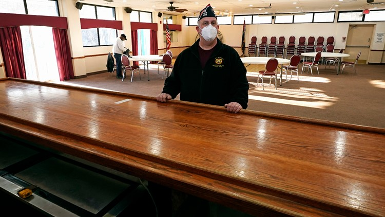 A year into the pandemic, and veterans halls are struggling