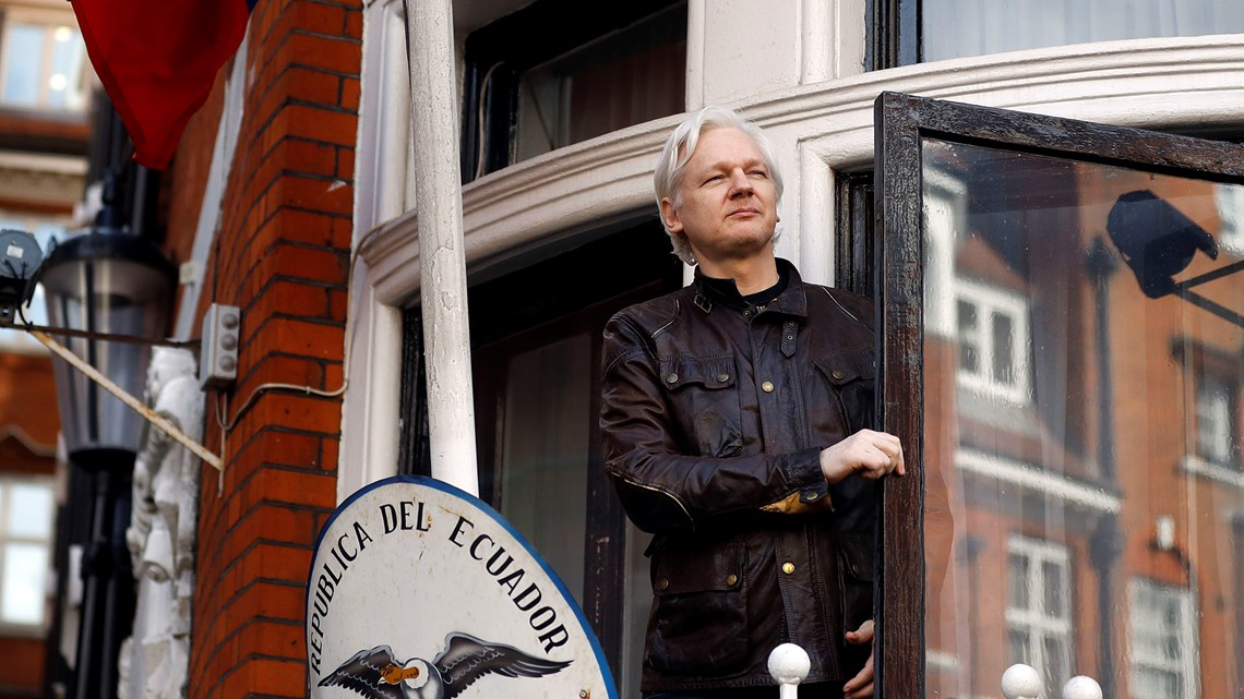 Is WikiLeaks U0026 39 Julian Assange About To Be Kicked Out Of