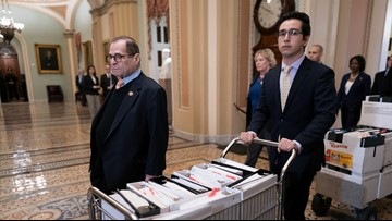 Senate impeachment trial: Trump lawyer says Dems want to 'overturn' last election