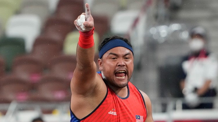 Malaysian shot putter disqualified after winning gold medal