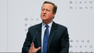 Ex-UK PM Cameron 'sorry' for Brexit divisions