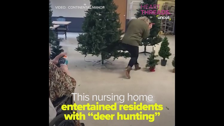 Nursing home goes 'deer hunting'