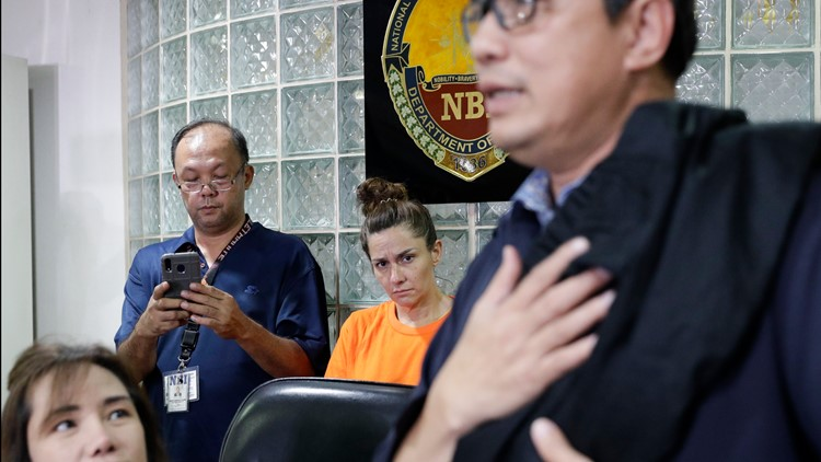 Philippines American Arrested