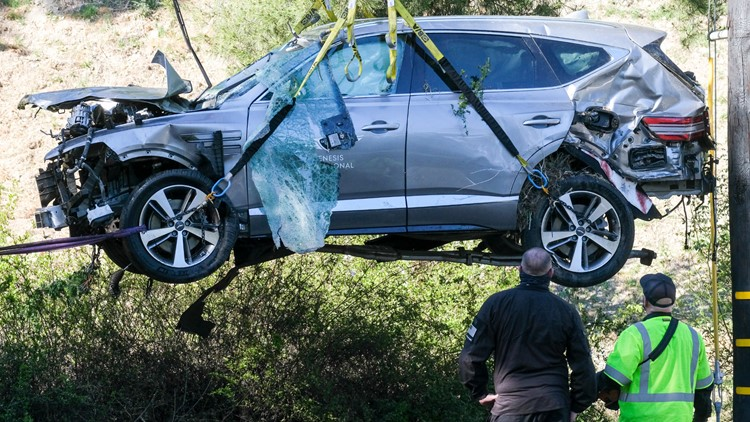 Tiger Woods crash 'purely an accident,' sheriff says
