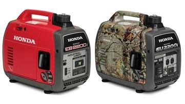 340,000 Honda portable generators recalled for fire hazard