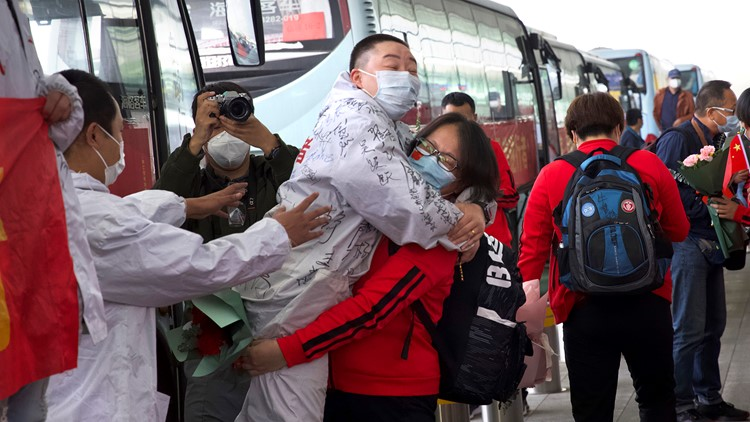 Wuhan China lifts coronavirus lockdown