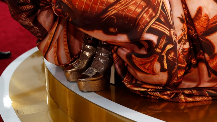 Billy Porter gold shoes 92nd Academy Awards - Red Carpet