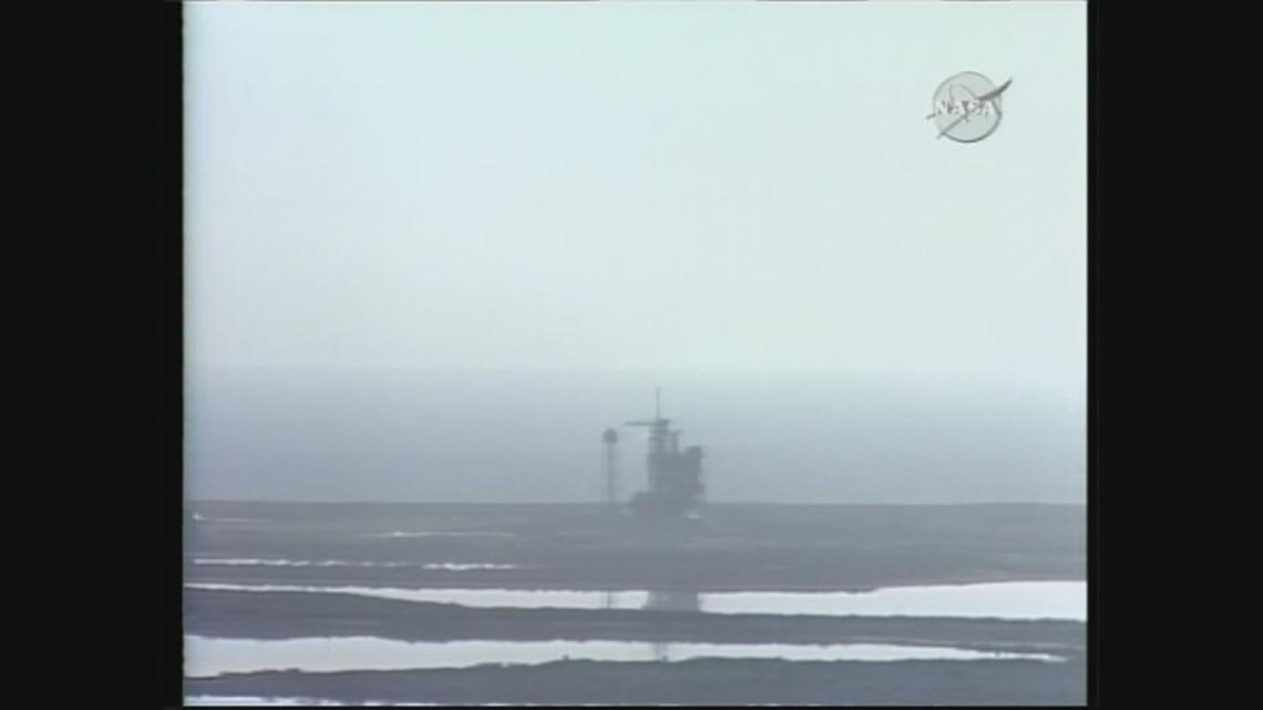 Space Shuttle Columbia 1st launch -- April 12, 1981