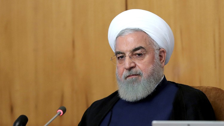 Iran's president says Trump doesn't want war ahead of 2020 election
