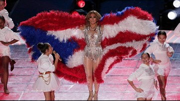 Puerto Ricans thrilled by flag sighting in Super Bowl halftime show