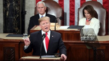 VERIFY: Fact-checking Trump's State of the Union, Abrams response