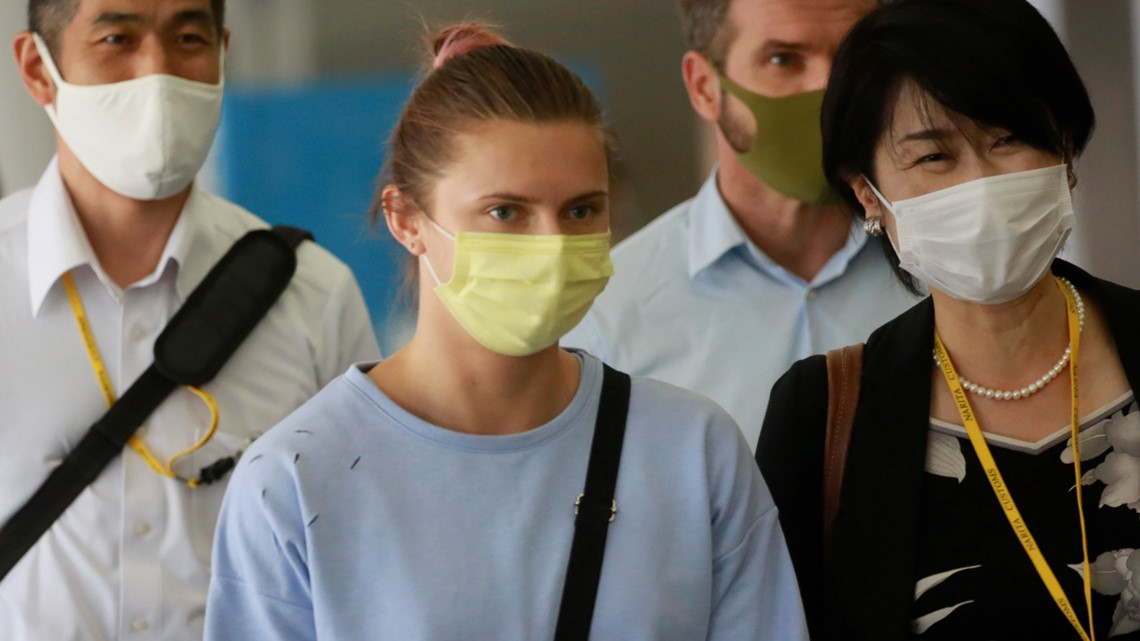 Belarus Olympic runner who feared going home lands in Vienna