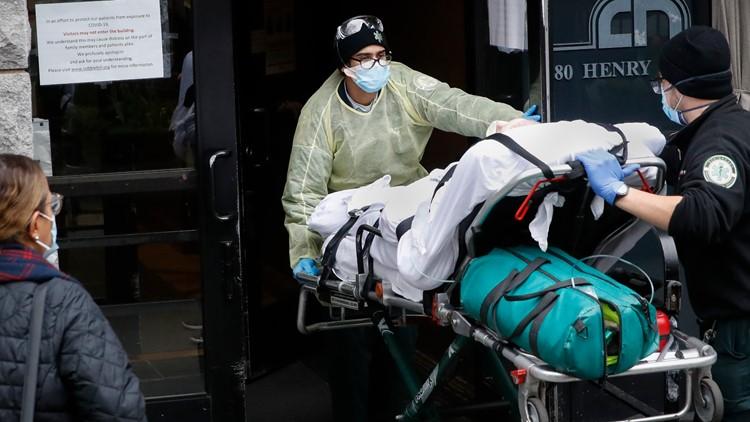 Virus Outbreak Nursing Homes April 17 AP