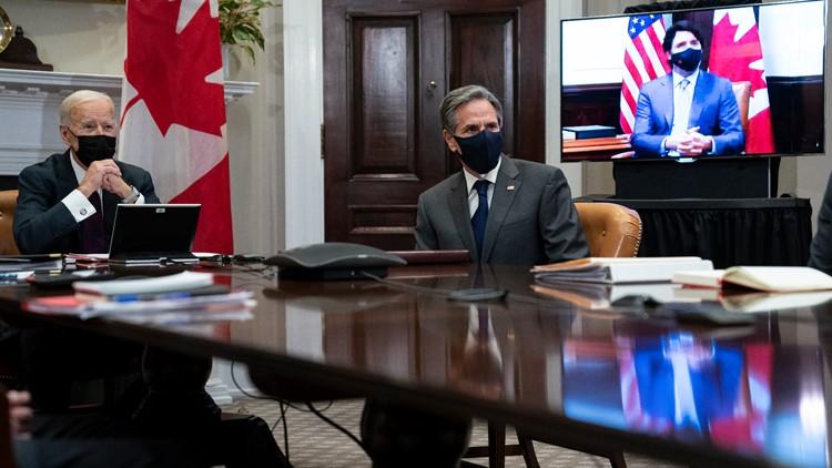 More policy, less pomp as Biden-Trudeau meet virtually