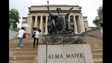 Columbia University denounces 'racially charged' rant by white student