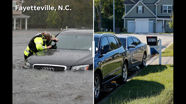 Since Hurricane Florence made a direct hit on the Carolinas nearly a week ago, the storm brought several waves of devastation. A look at photos from the week.