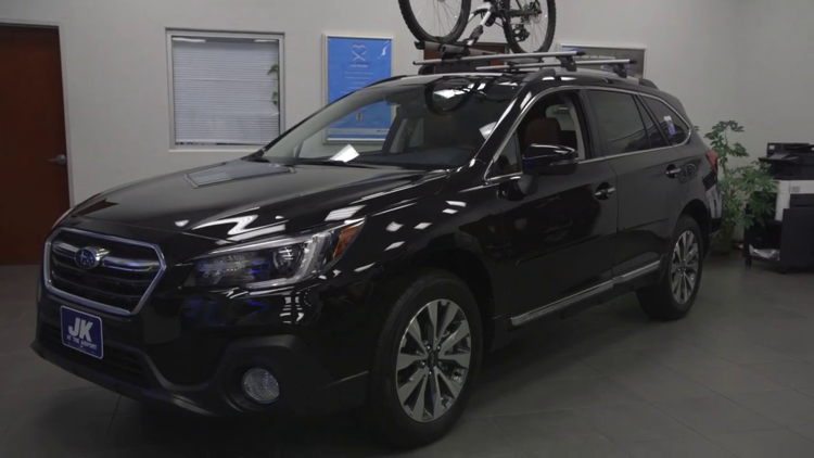Jeff Gerber takes a 2019 Subaru Outback on a 12News test drive