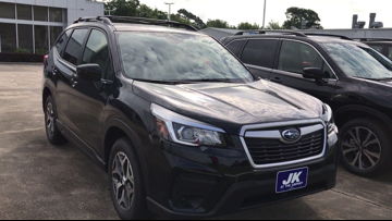 12News Test Drive takes out the 2019 Subaru Forester Sport