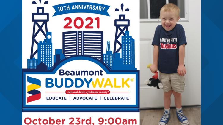 10th Annual Beaumont Buddy Walk promotes inclusion, raises Down Syndrome Awareness