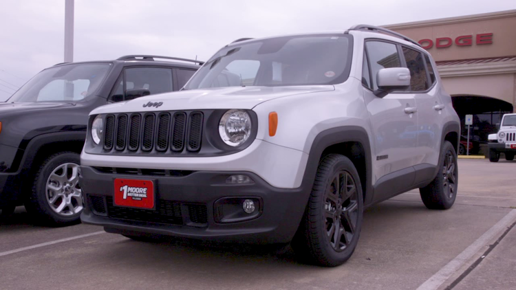 Take a 2018 Jeep Renegade Limited Edition on a 12News test drive