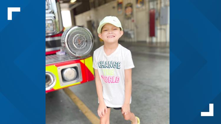 #LiveLikeMaddie: Texas firefighters shave their heads to support child battling leukemia