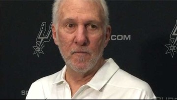Pop goes off on Trump after Spurs' preseason finale Friday night