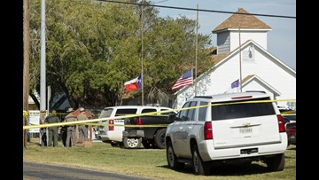 Names released of victims in Sutherland Springs church shooting