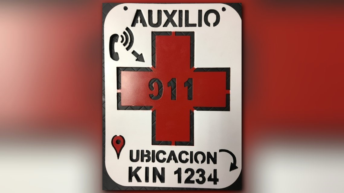 Two Hondurans rescued with Border Patrol's new locator signs