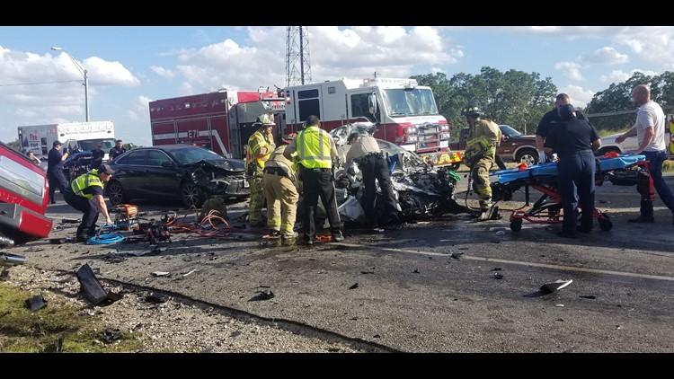 'God put his hand on my car': Double-fatality crash survivor talks about deadly San Antonio accident
