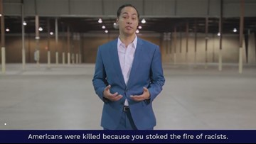 Julián Castro in new ad to President Trump: 'You stoked the fire of racists'