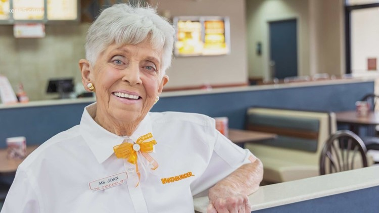 Whataburger throws 90-year-old employee a birthday party