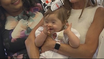 Texas baby born in Chick-fil-A bathroom celebrates first birthday