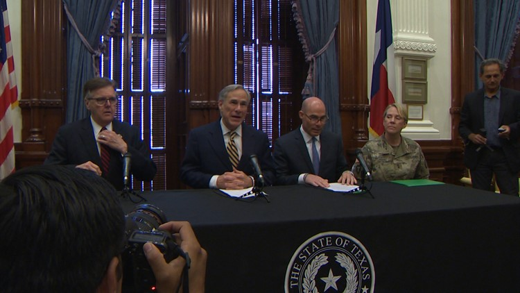 Texas Governor Greg Abbott announces deployment of National Guard to the Texas-Mexico border
