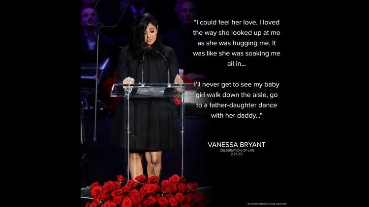 Vanessa Bryant remembers her daughter