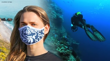 SoCal company makes face coverings out of recycled ocean plastic