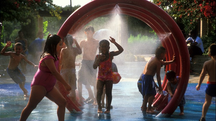 Interactive map: Splashpads and spraygrounds all over the Houston area