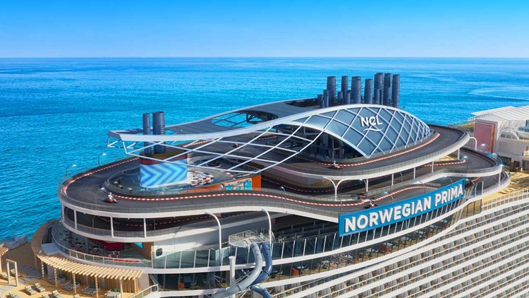 New Norwegian Cruise ship is first of its kind, and Galveston will be its homeport